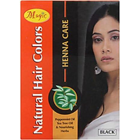 Buy Nature S Essence Magic Heena Colour 150g Black Online At Low