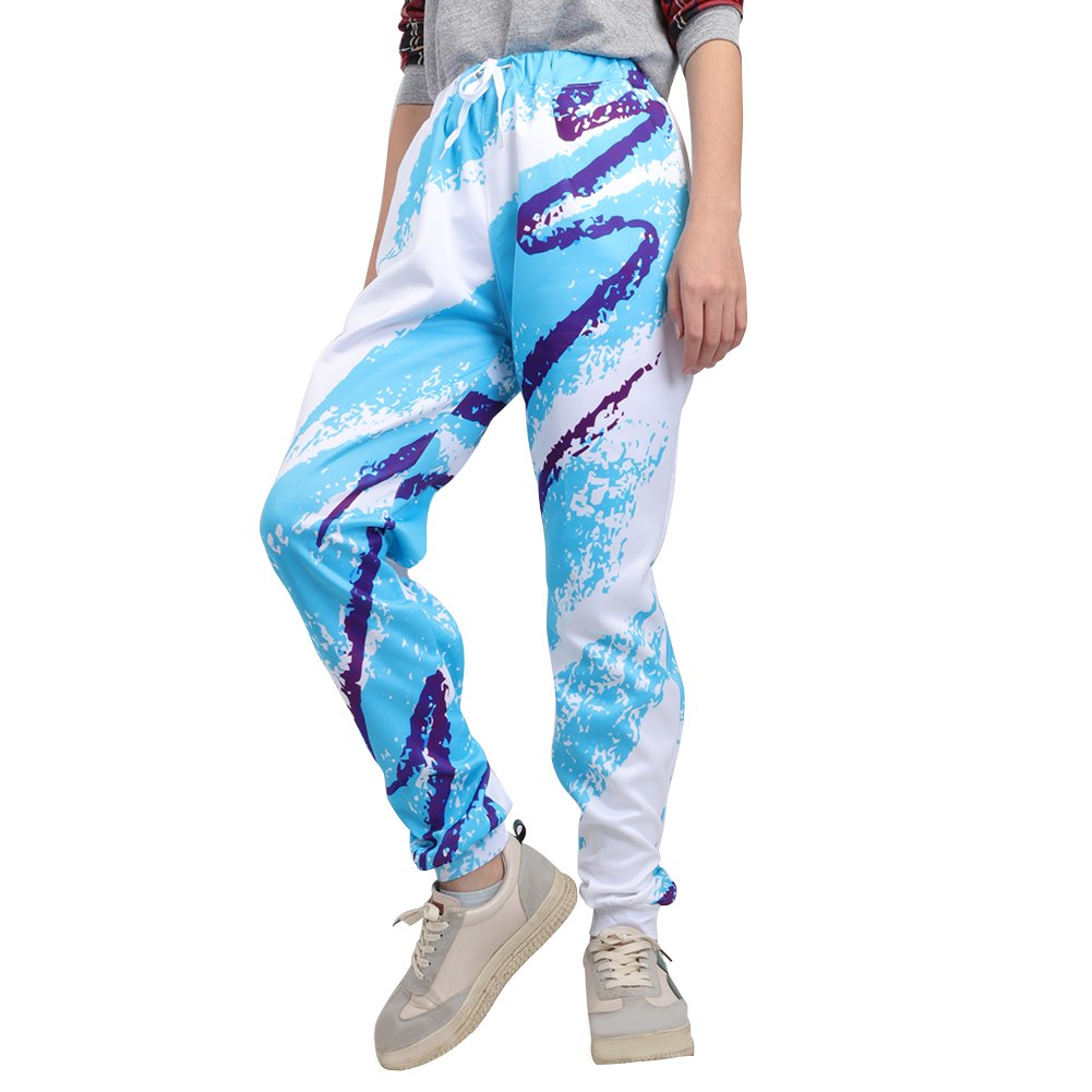 Leapparel Unisex 80s Jazz Solo Cup Graphic Design Hipster Stylish Jogging Pants Sweatpants M