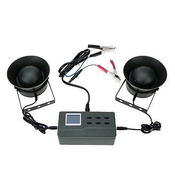 SmartEra® 2 altavoces 125 dB Amplificador 35w señuelo caza de aves al aire libre Máquina