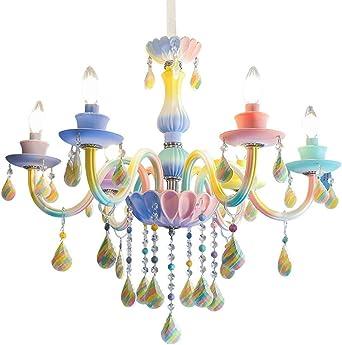 Lampe murale Lampe cristal violet princesse chambre enfant Lampe pour enfants