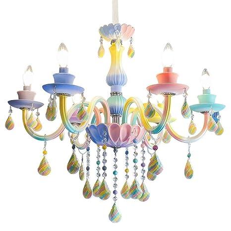 Lámpara De Araña De Cristal De La Lámpara del Arco Iris De ...
