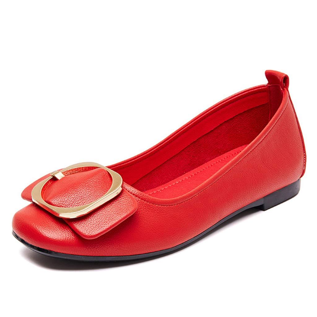 LZW LZW LZW Rutschfest Atmungsaktiv Flache Schuhe Verschleißfest Flacher Mund Gemütlich Weich Einzelne Schuhe da2f3f