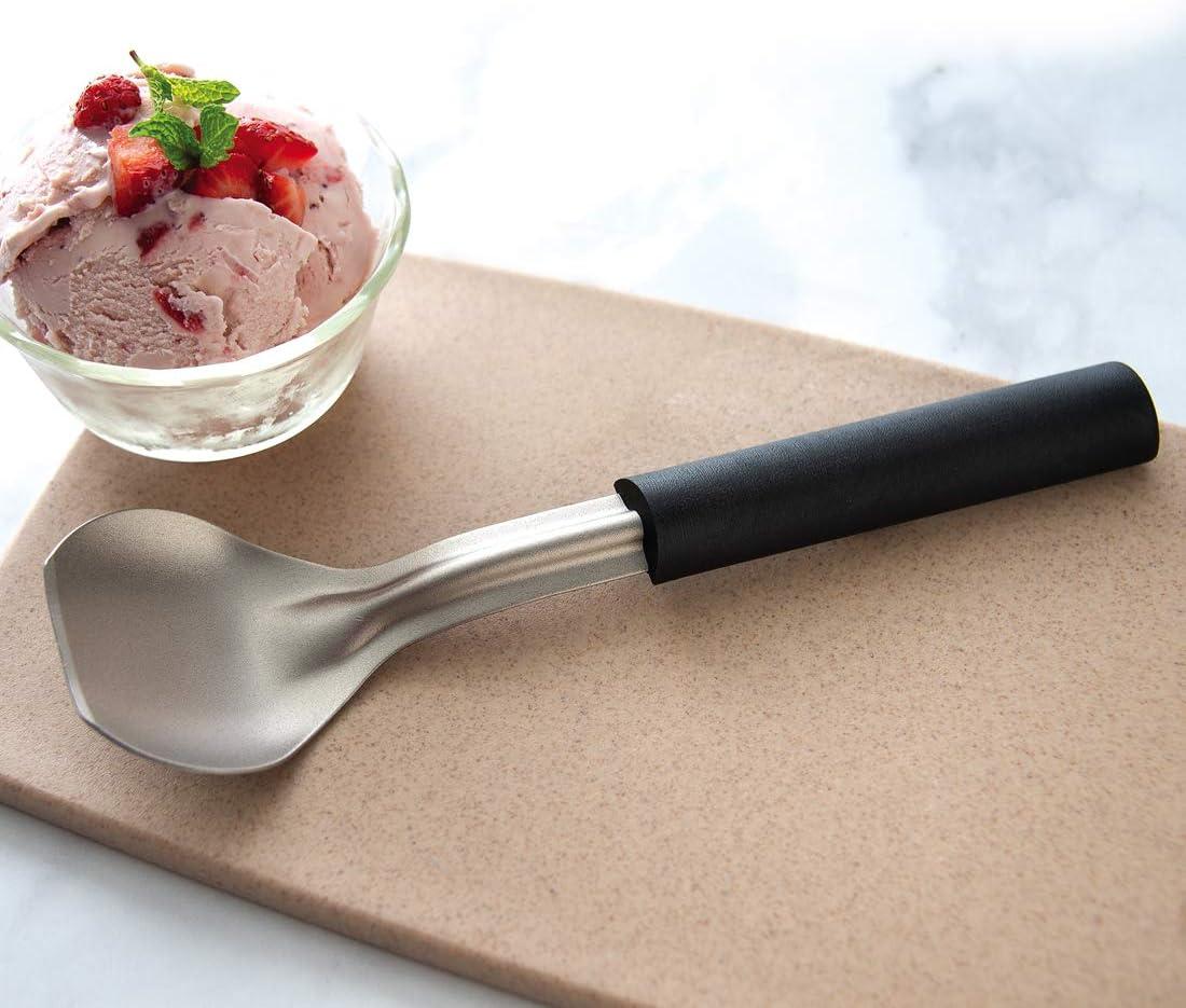 African Padauk Hawkeye ice cream scoop