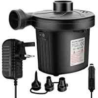 UOON Electric Air Pump Electric Suction Pump air into & Remove Two corresponding Various Functions Home/car can use「PSE Certification」Safety Guarantee