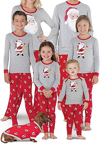 BaZhaHei-Navidad Pijama Mujer mamá Papá Noel Remata Blusa ...