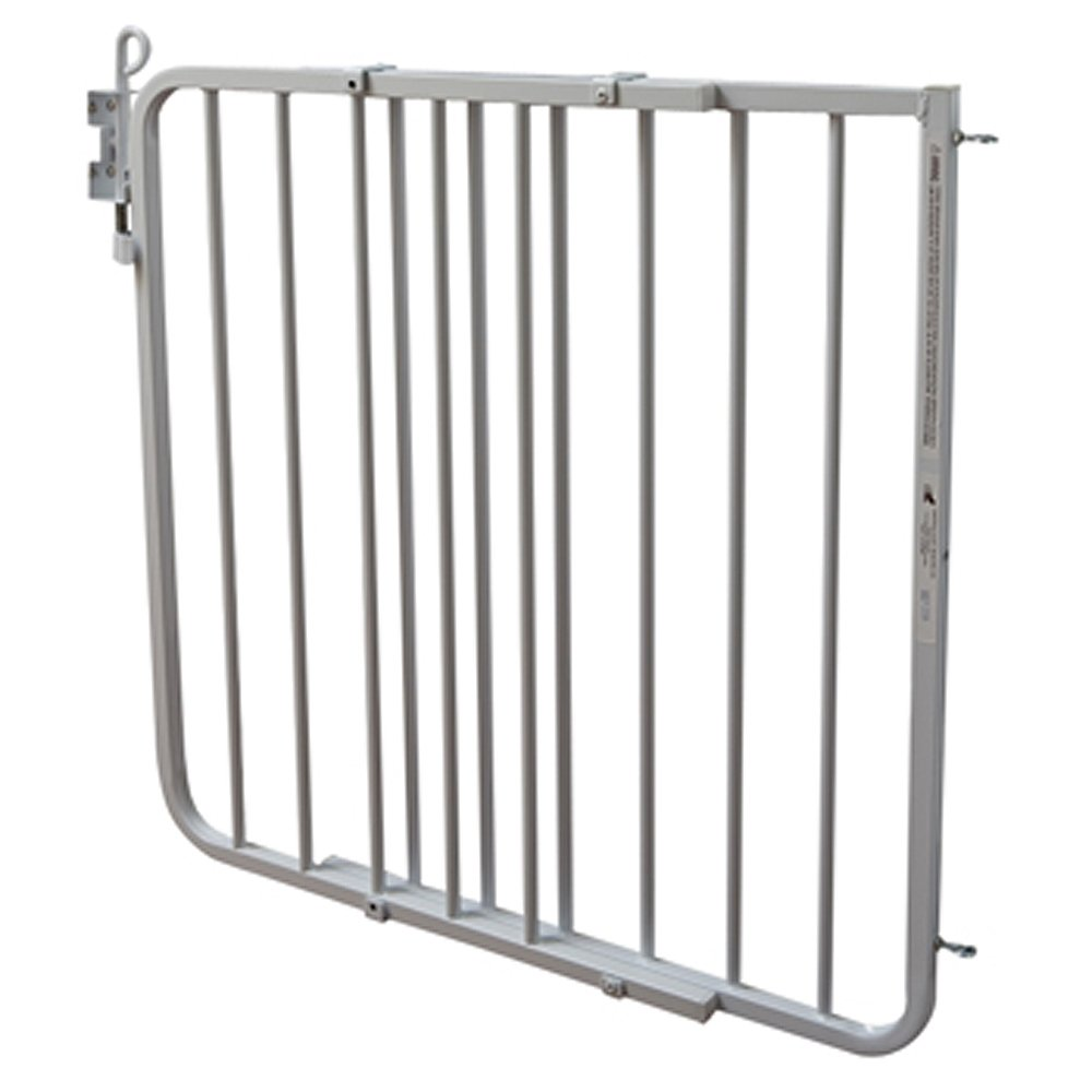 Cardinal Gates Auto-Lock Gate, White by Cardinal Gates