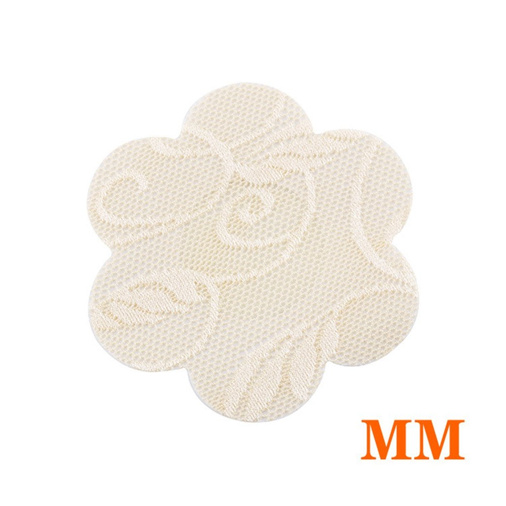 20 Pairs Lace Flower Adhesive Nipple Covers Pads Breasts Stickers