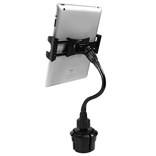 Macally 2-in-1 Tablet & Smartphone Car Cup Holder Mount