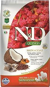 FARMINA DOG N&D QUINOA SKIN COAT HERRING 5.5-Lb