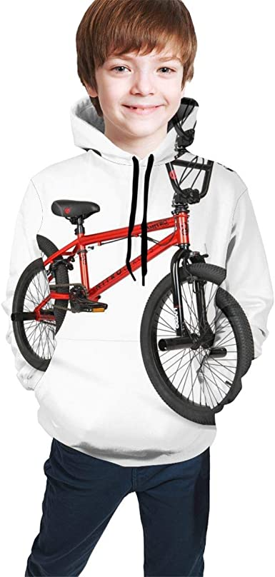Xarchy BMX Bike Teen Sudadera con Capucha Unisex Niños: Amazon.es ...