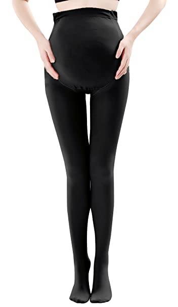 cb623eaf2 Maternity Compression Stockings Full Support Stretch Maternity Leggings  Pantyhose Pregnancy Pants Black