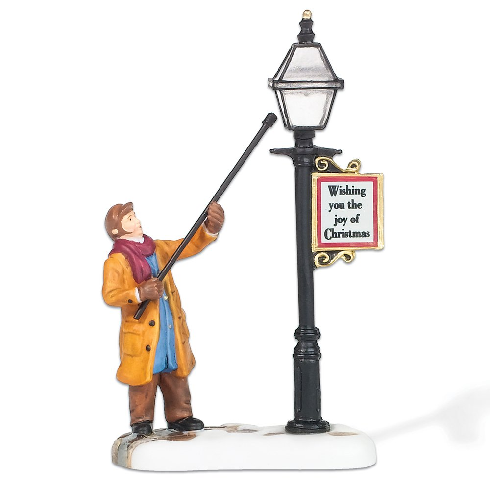 Department 56 New England Village Lamplighter Accessory Figurine