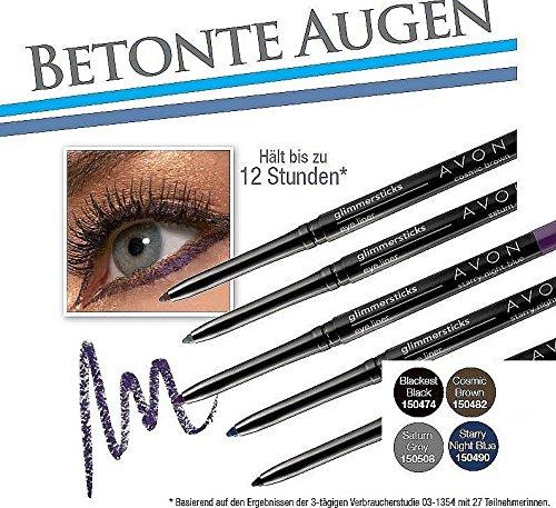 AVON Glimmerstick Augenkonturenstift Kajalstift Fb. Saturn Grey