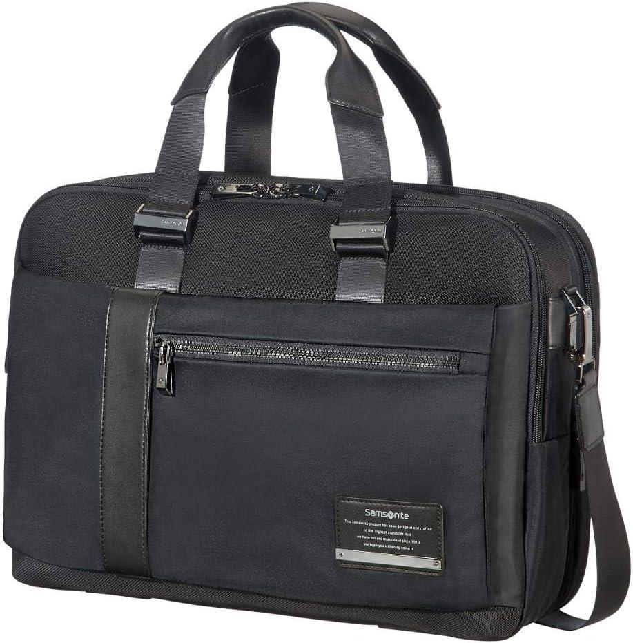 Samsonite OpenRoad Laptop Briefcase, Jet Black, 15.6-Inch
