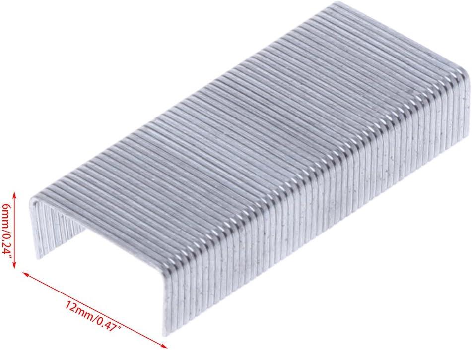 KERDEJAR 1000 Pezzi//Scatola 24//6 Punti Metallici per cucitrice Materiale Scolastico per Ufficio Cancelleria novit/à
