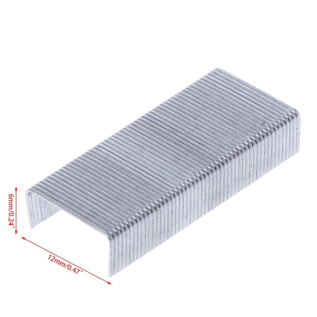 Lpyfgtp 1000PCS//Box 24//6/punti metallici per cucitrice forniture ufficio scuola cancelleria