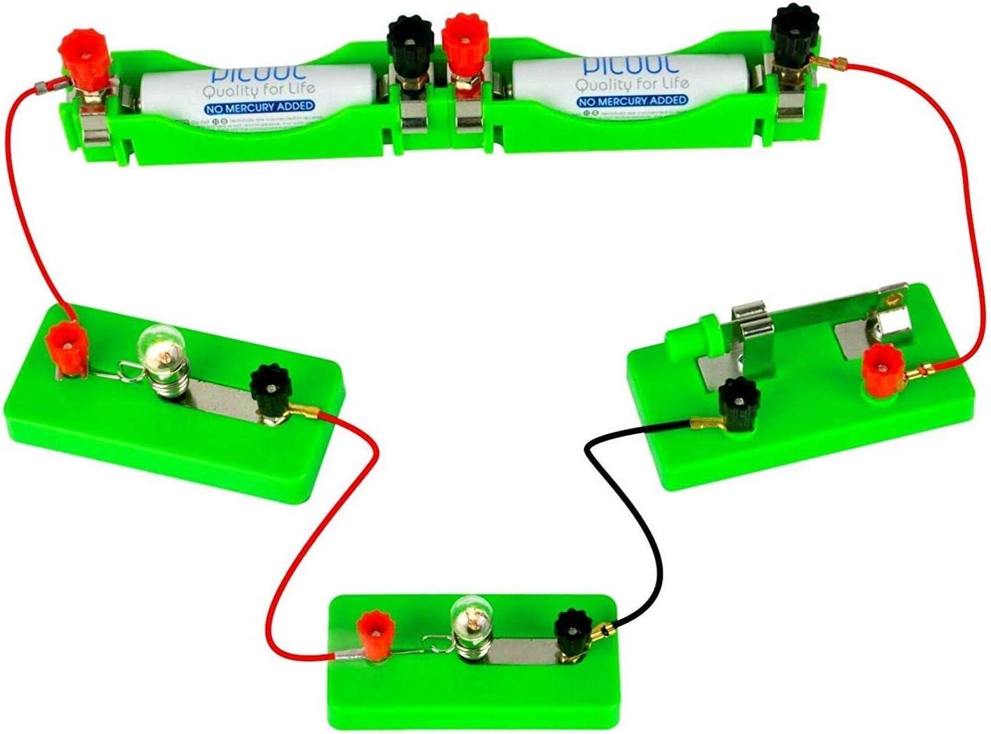 OSOYOO Wissenschafts-Lern-Set f/ür Studenten in den Stufen 3-9 Advanced Lab Kit Bauschaltungen Elektrizit/äts- und Magnetismus-Experiment-Set