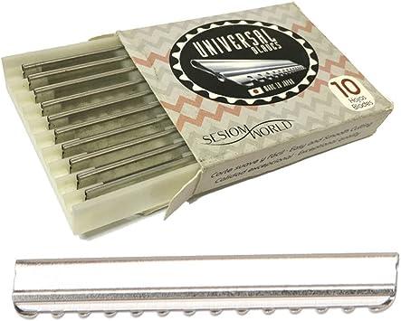 Sesiomworld Cuchillas para Navajas de Desfilar Universal Blades Profesionales Peluquería O Barbería Caja 10 Unidades 1 Unidad 200 g: Amazon.es: Salud y cuidado personal
