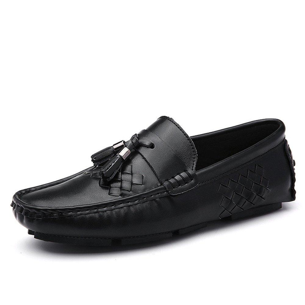 Zapatos de conducción al Aire Libre Respirables Ocasionales de los Hombres de Verano 42 2/3 EU|Negro