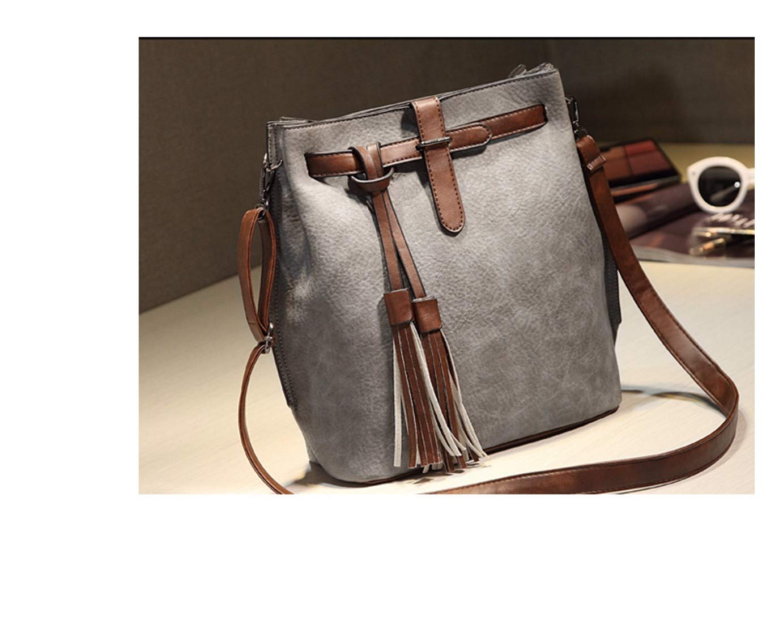 ArrJee Damens& 039;s Bag Schräg Tasche Aus Weichem Leder Pu High-End Fashion Temperament Eleganz Noble Retro Sweet Simple