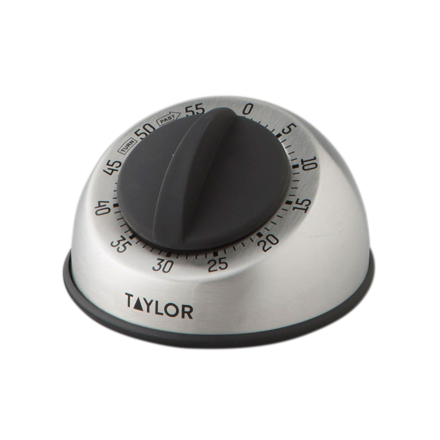 Taylor Precision Products Pro Stainless Steel Mechanical Timer