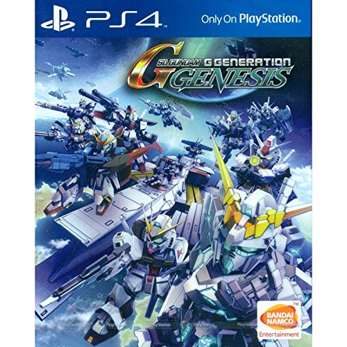 SD Gundam G Generation Genesis (English Subs) for PlayStation 4 [PS4] by Bandai NamcoEntertainment