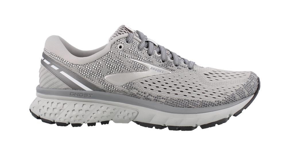 Brooks Womens Ghost 11 Running Shoe B077QK9Y94 7.5 B(M) US|Grey/Silver/White