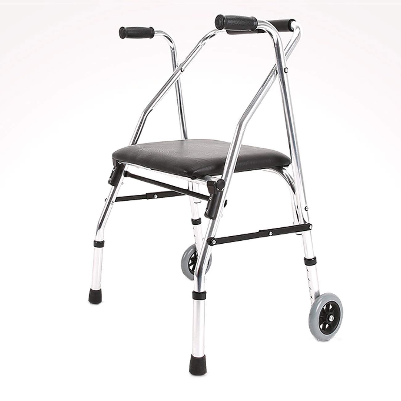 【特価】 高齢者の歩行器 B07L2KH5JT、アルミ合金歩行補助、キャリー2キャスターシートクッション補助歩行器 B07L2KH5JT, アステック:5de0f363 --- a0267596.xsph.ru