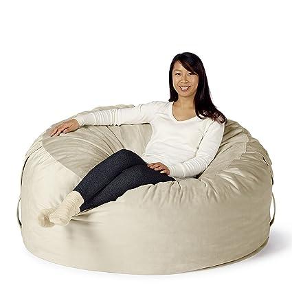 Exceptionnel Take Ten Large 50u201d Luxury Bean Bag Chair U2013 Multiple Colors/Seats 1 To