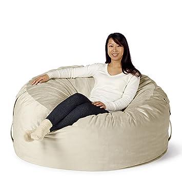 Take Ten Large 50u201d Luxury Bean Bag Chair U2013 Multiple Colors / Seats 1 To