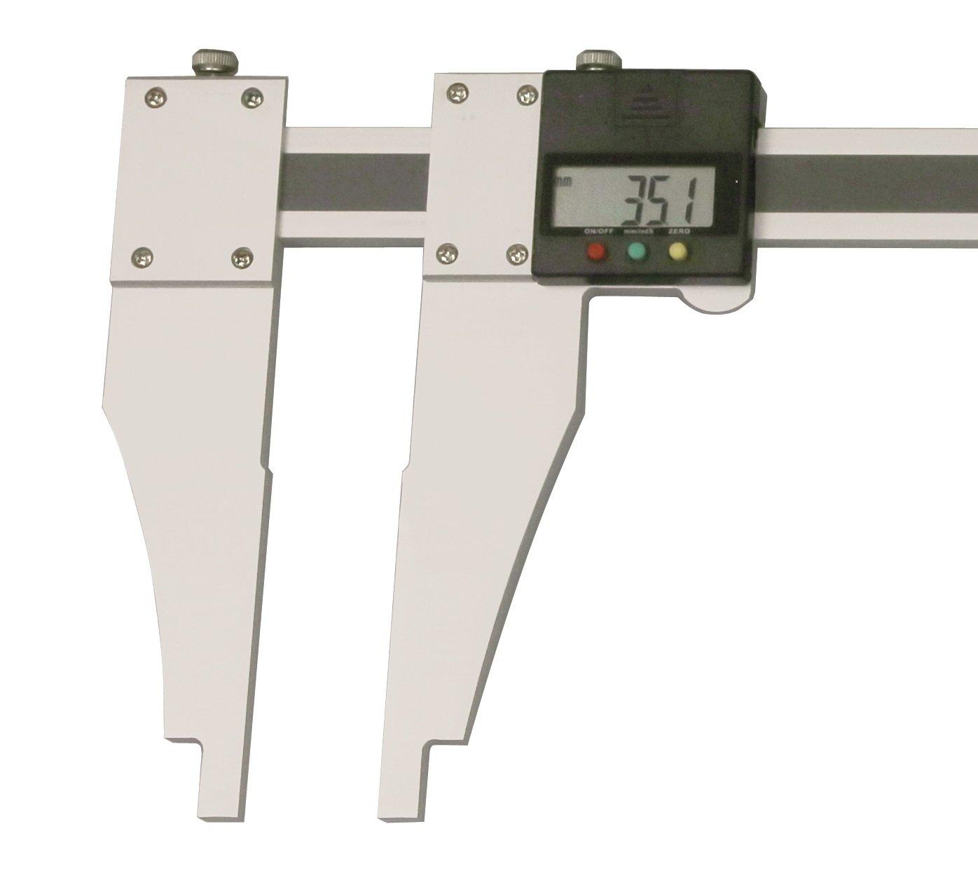 Digital-Werkstatt-Messschieber 1000 mm ALU mit verschiebbarem Schnabel