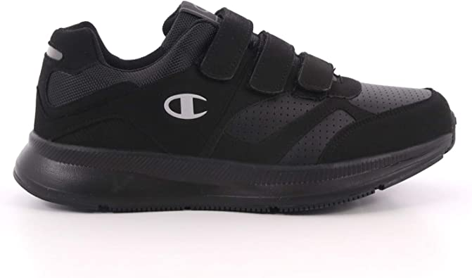 Champion Scarpe Uomo Low Cut Shoe Lyte Velcro Nero, 46