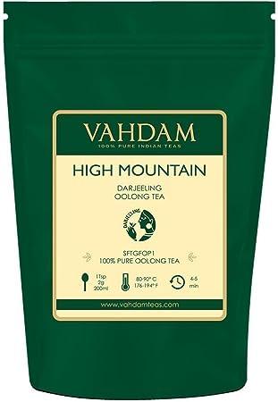 TÉ DE HOJA LIBRE EXCLUSIVO - Una hoja suelta de té oolong de las plantaciones místicas de Darjeeling