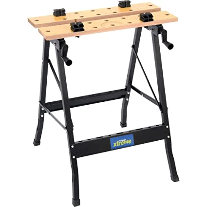 Outstanding Challenge Xtreme Portable Folding Work Bench Amazon Co Uk Dailytribune Chair Design For Home Dailytribuneorg