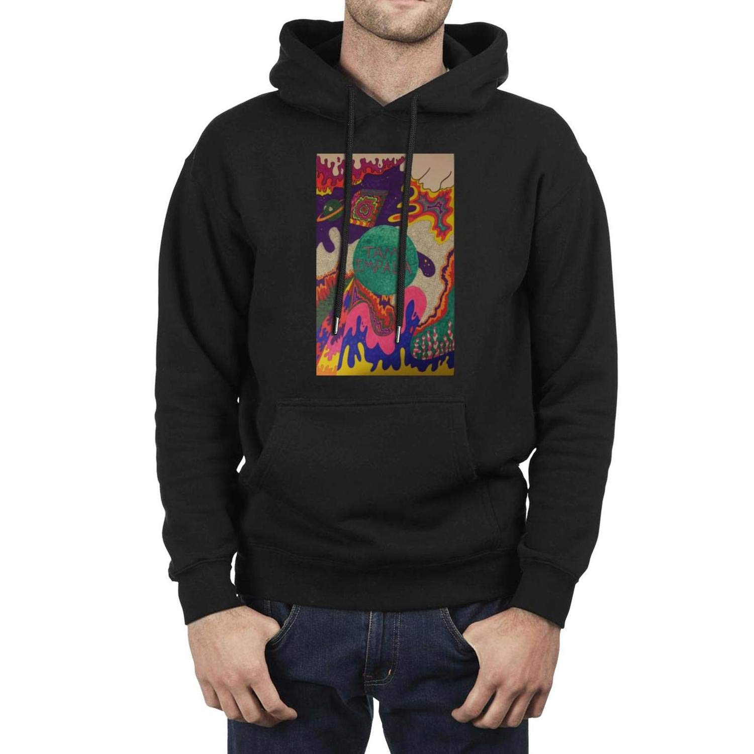 ZYALO Male Fleece Sweatshirt Lonerism-Tame-Impala- for Mens