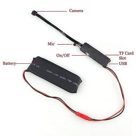 CursOnline® espía oculto cámara espía WIFI HD detección de movimiento cámara Micro espía CCD cámara de vídeo P2P tecnología avanzada con interior WIFI ...