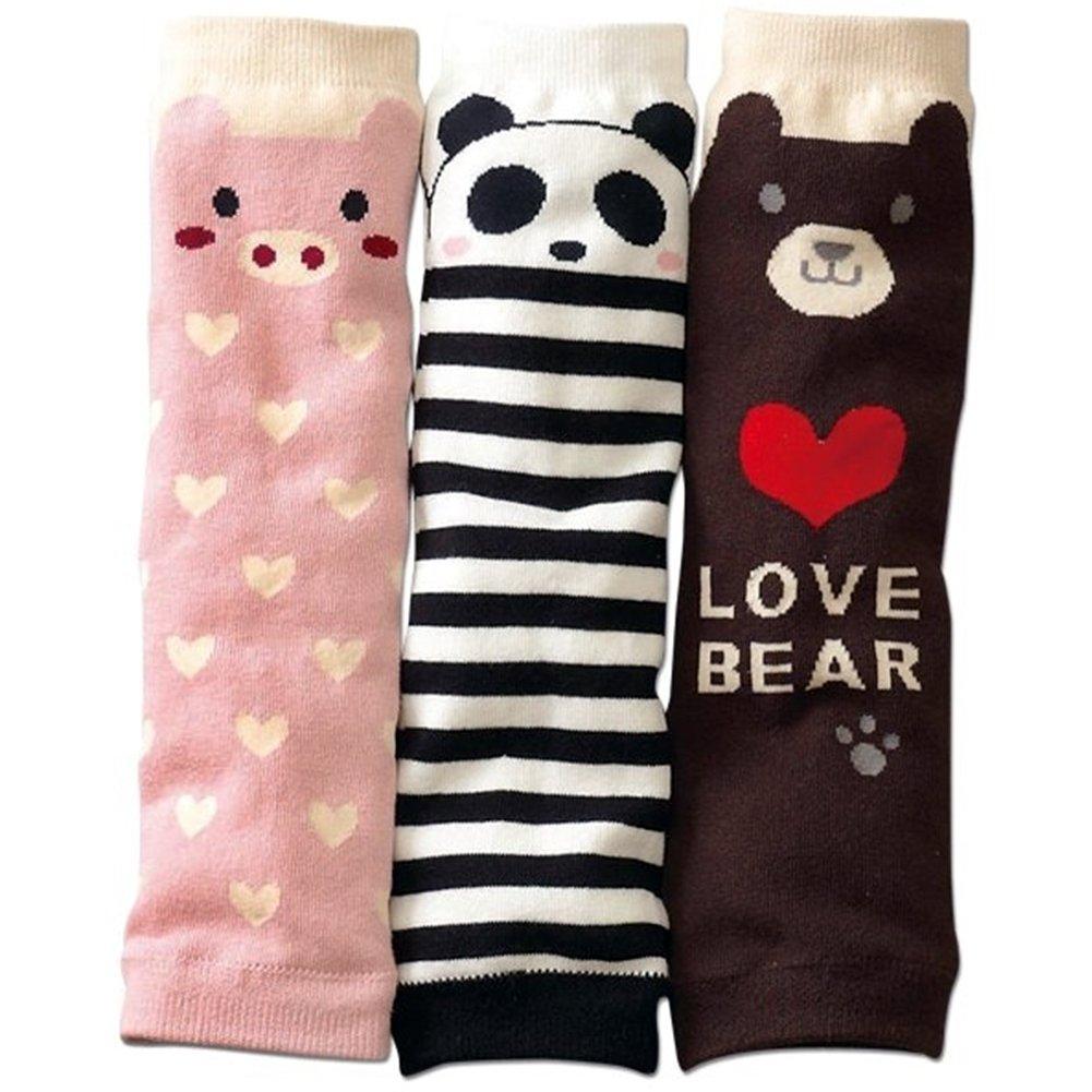 3 par Panda CutStriped de cerdo bebé patas de madera de calor hace falta de corazón en de osito de peluche