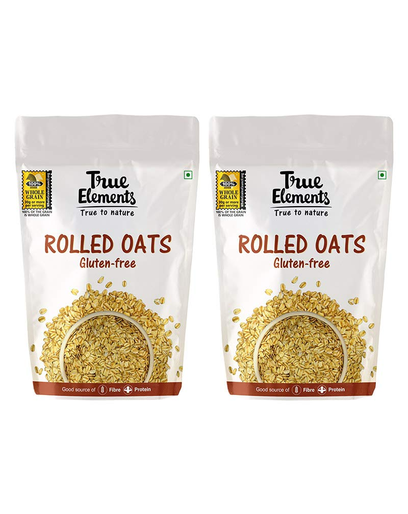 True Elements Rolled Oats for Weight Loss, 2kg
