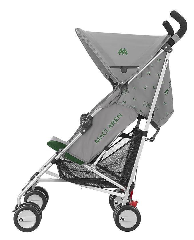 Maclaren Triumph - Silla de paseo, color gris/verde
