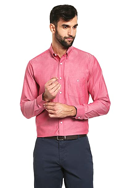 Rock Hampton Camisa Rosa Manga Larga Camisa para Hombre Rosa Talla M ... c1e5719fc71