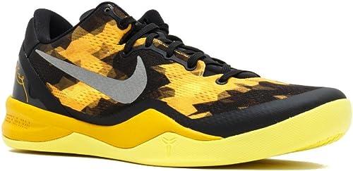 Nike Kobe 8 System - Hombres Zapatillas de Baloncesto - Negro ...
