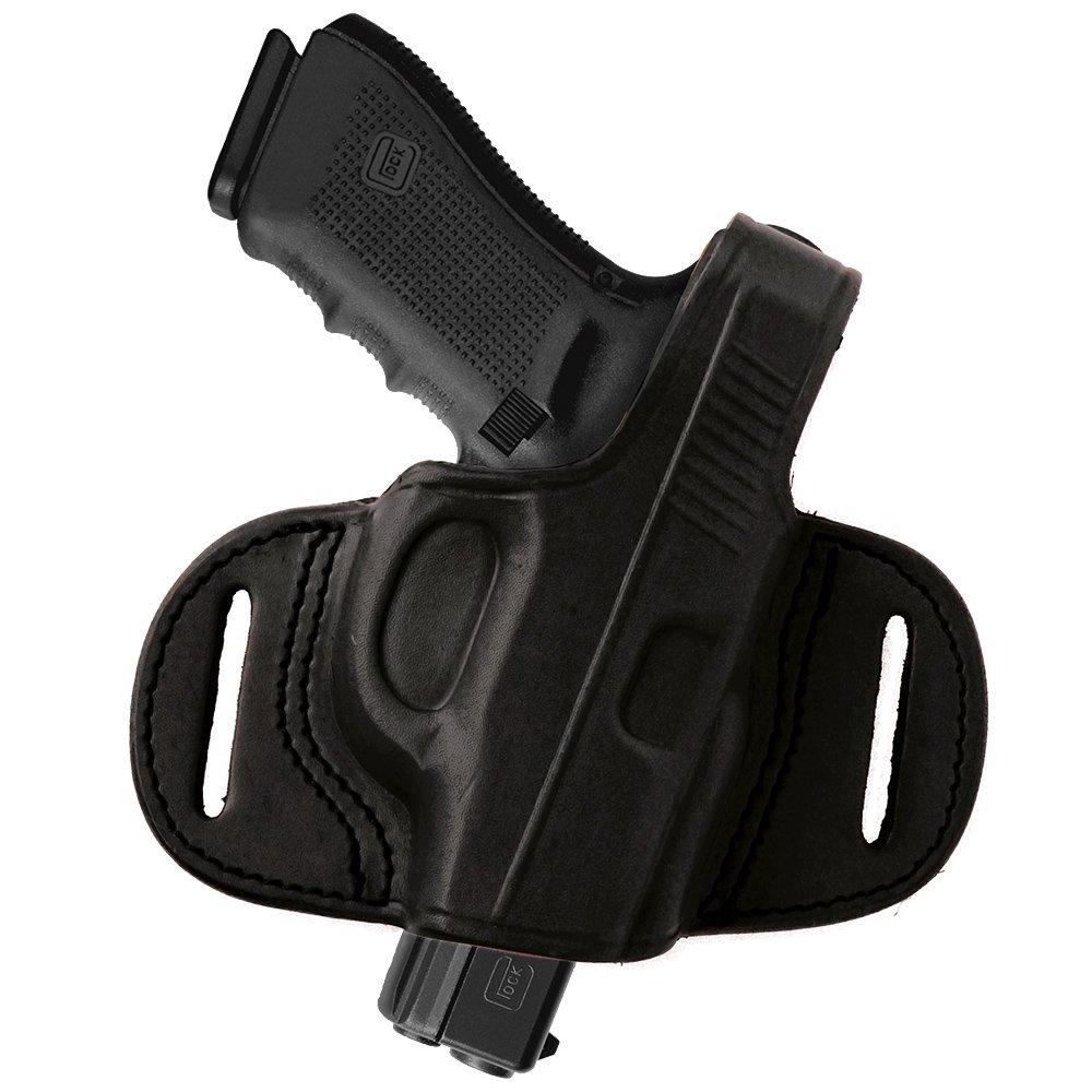 Tagua BH1M-1035 Mini Thumb Break Belt Holster, Taurus Millennium G2, Black, Right Hand