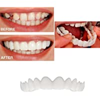 TIREOW 2 Pcs Comfort Fit Flex Cosmetic Teeth Most Comfortable Denture Care for Bad Teeth Give You Perfect Smile Veneers