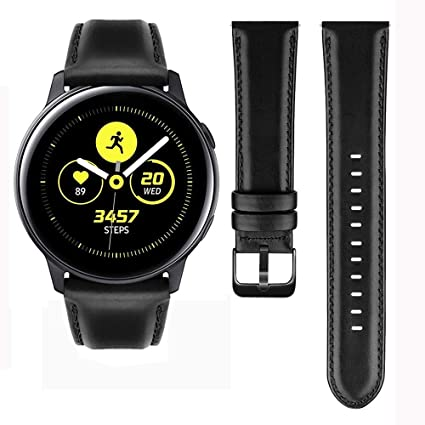 Gear S2 Classic Watch Band,MroTech Premium Leather Bands with Black Buckle Gear S2 Classic Band 20mm Watch Bands Replacement Watch Strap for Samsung ...