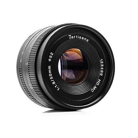 7artans F1.8 APS-C - Lente Fija Manual para Canon M1, M2, M3, M5 ...