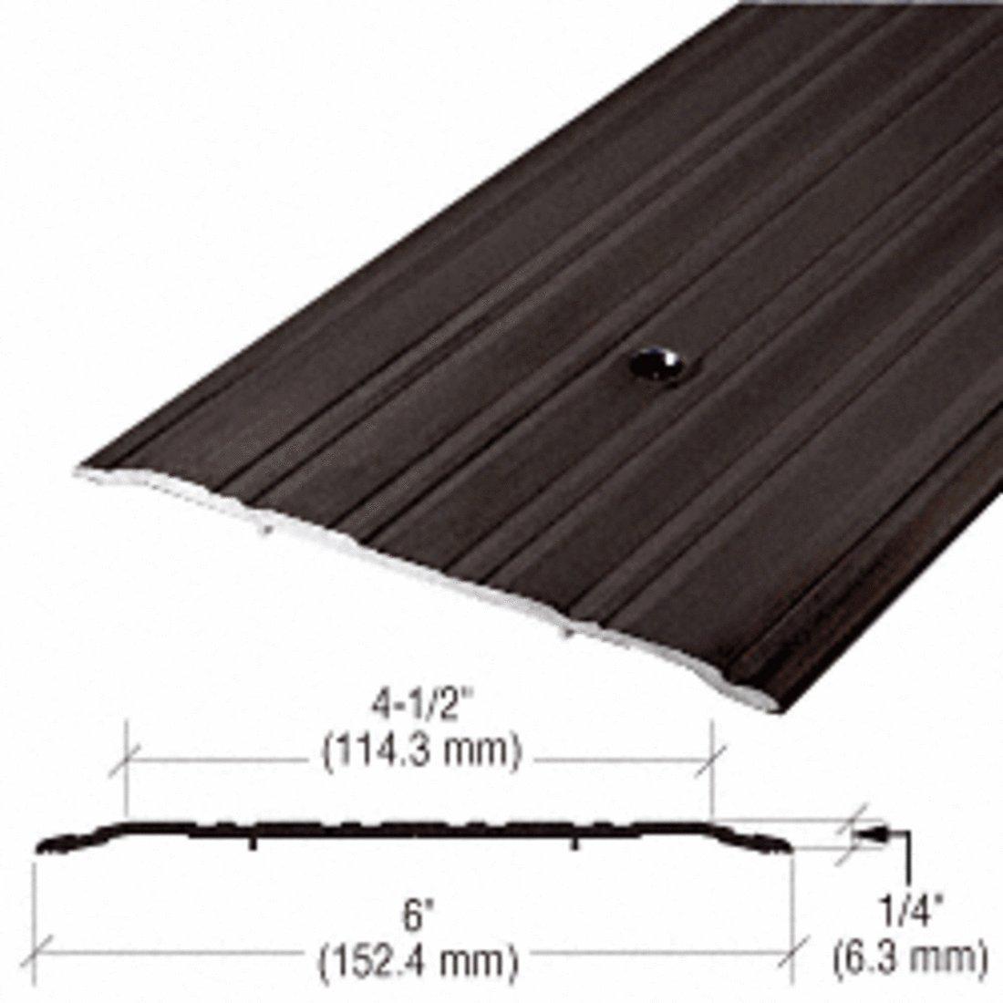 CRL 6'' Bronze Commercial Saddle Threshold - 36-1/2'' Length 49D36