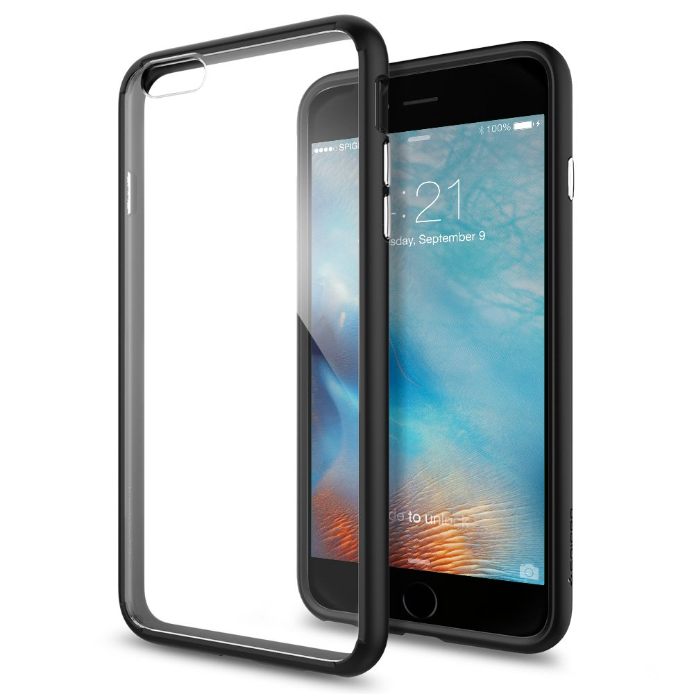 huge selection of f8e25 33983 Spigen Ultra Hybrid Designed for Apple iPhone 6S Plus (2015) - Black
