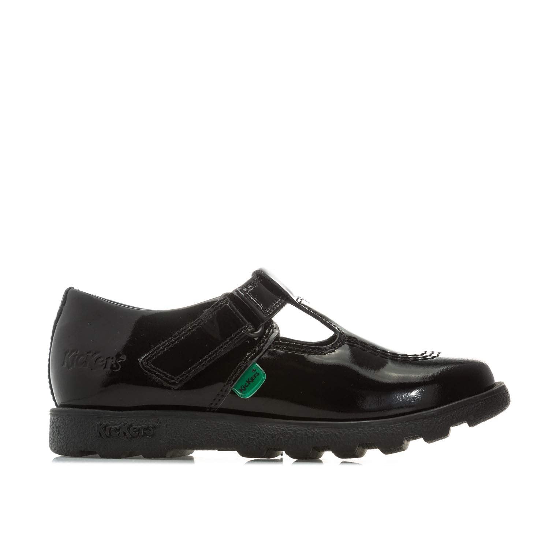 893558c5d794f Amazon.com | Kickers Girl's Fragma TBar Patent Shoes 6 Infant Black ...