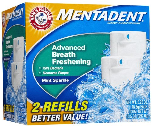 Mentadent Fluoride Toothpaste Advanced Freshening