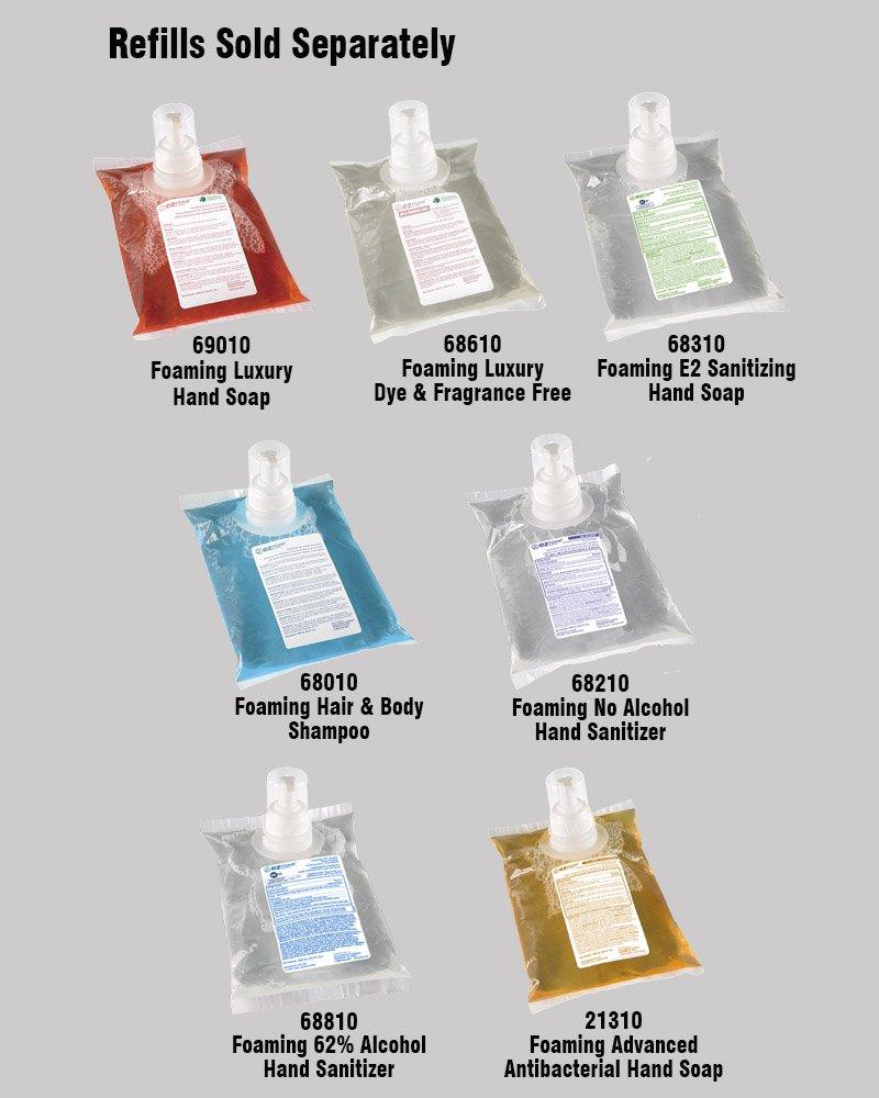 Kutol Foaming Hair & Body Shampoo - refill variety